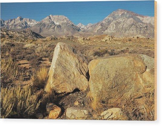 Wood Print featuring the photograph Sierra Vista by Stuart Gordon