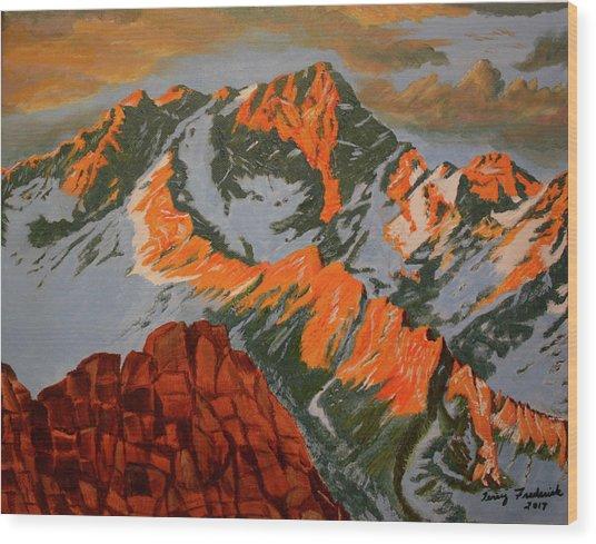 Sierra's Wood Print