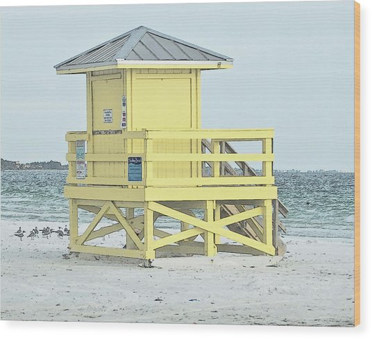 Siesta Key Beach 1 Wood Print