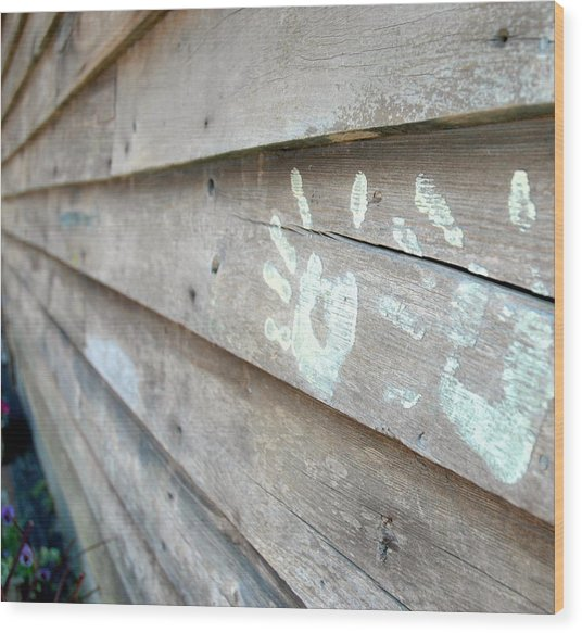 Signature Wood Print