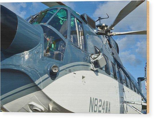 Sikorsky S-61n Wood Print