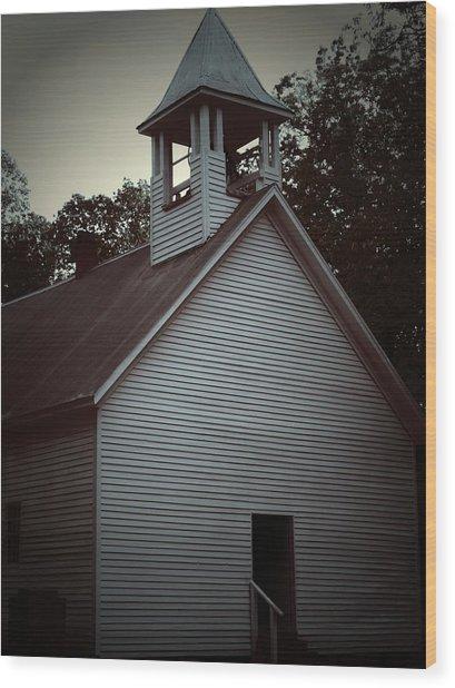 Silent Faith Wood Print by Jessica Burgett
