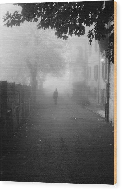 Silent Hill Wood Print