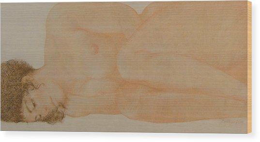 Silent Repose Wood Print by Gary Kaemmer