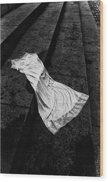 Silk And Stone Wood Print