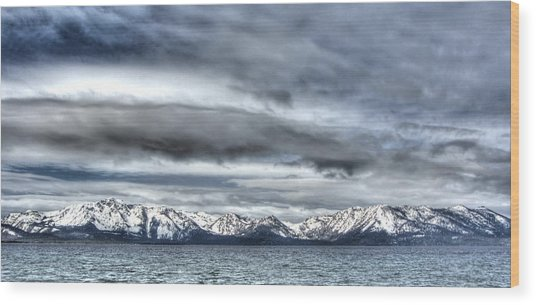 Silver Lake Tahoe Wood Print