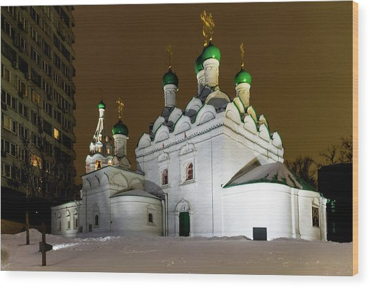 Simeon Stylites Church Wood Print