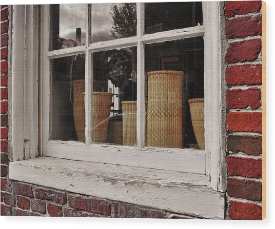 Simple Nantucket Wood Print by JAMART Photography