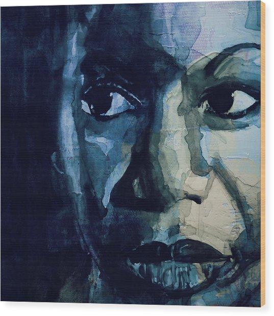 Sinnerman - Nina Simone Wood Print