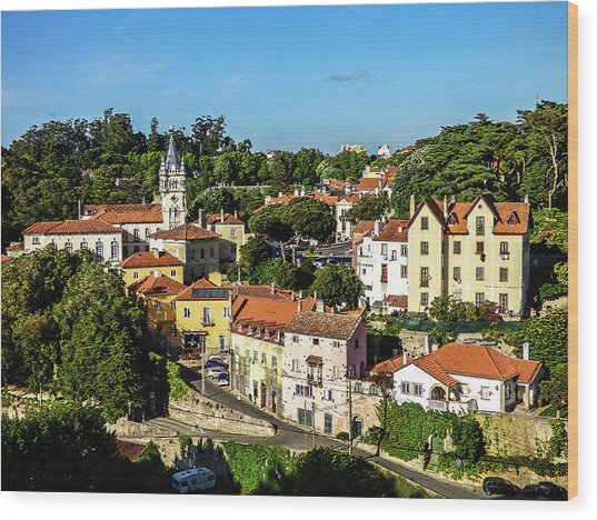 Sintra - The Most Romantic Village Of Portugal Wood Print