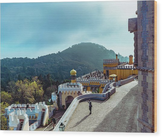 Sintra Views Wood Print
