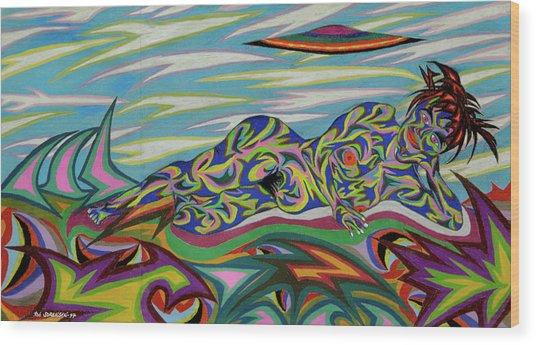 Sirene De Venus Wood Print