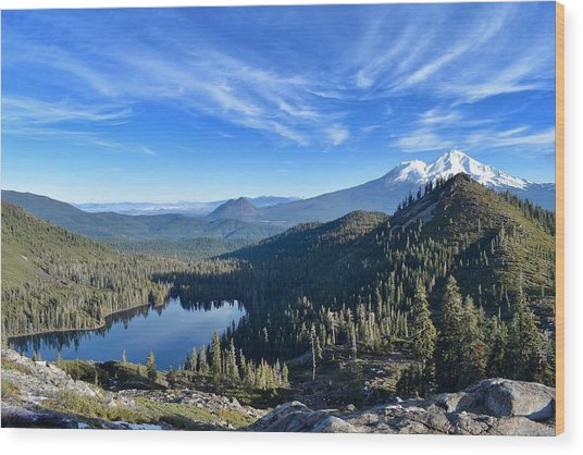 Siskiyou Beauty Wood Print