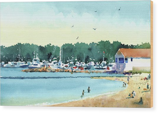 Sister Bay, Door County Wood Print