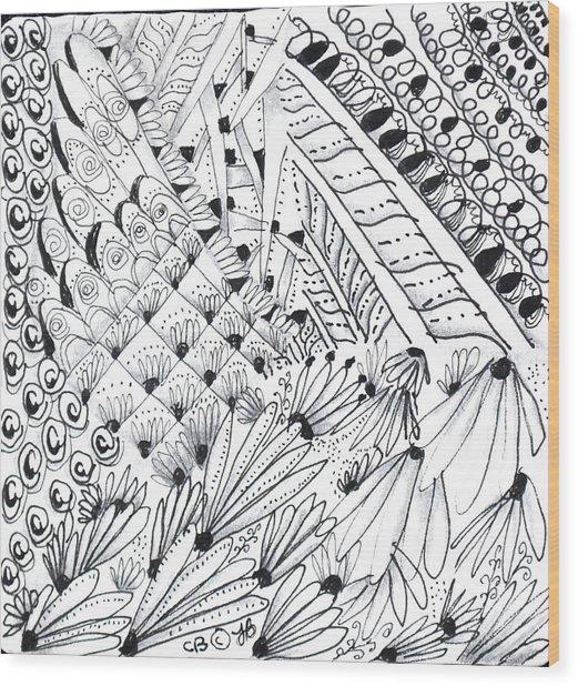 Sister Tangle Wood Print