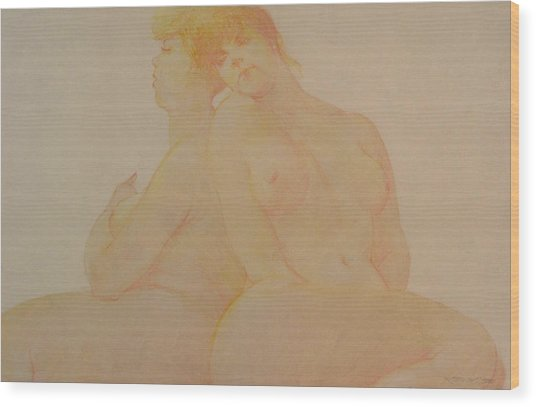 Sisters Wood Print by Gary Kaemmer