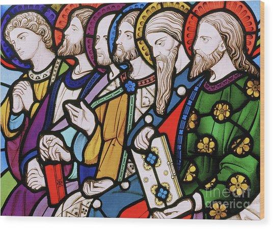 Six Apostles Wood Print