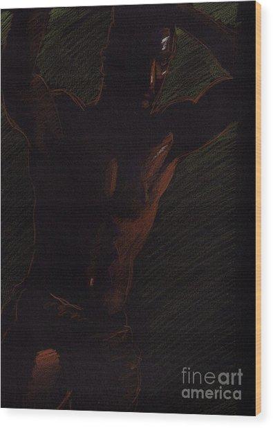 Sketch Number Twelve Wood Print