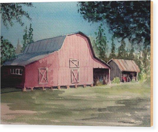 Skip Kelly's Barn Wood Print