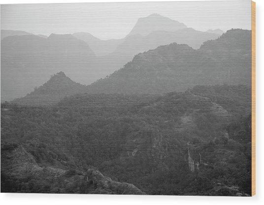 Skn 4443 Rolling Landscape Wood Print