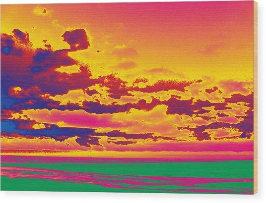 Sky #1 Wood Print