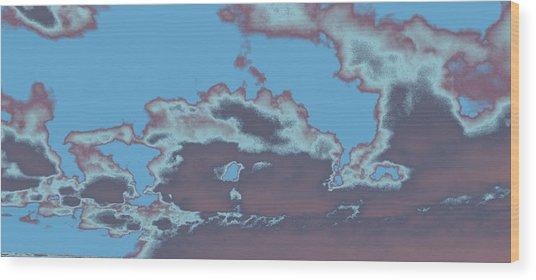 Sky #5 Wood Print