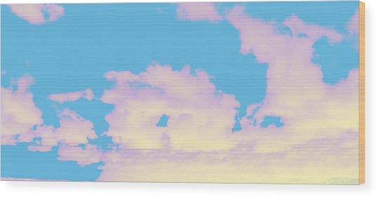 Sky #6 Wood Print