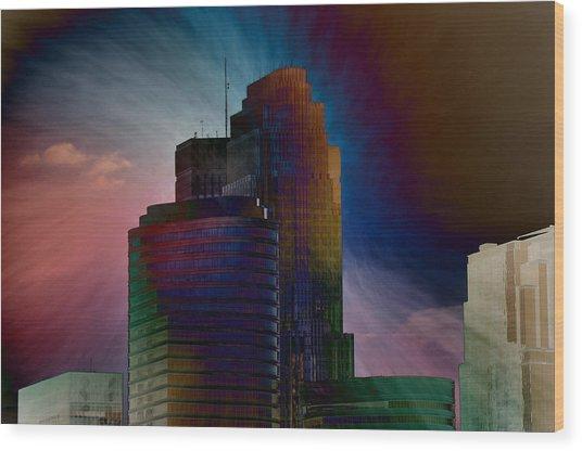 Sky Disruptors Wood Print by John Ricker