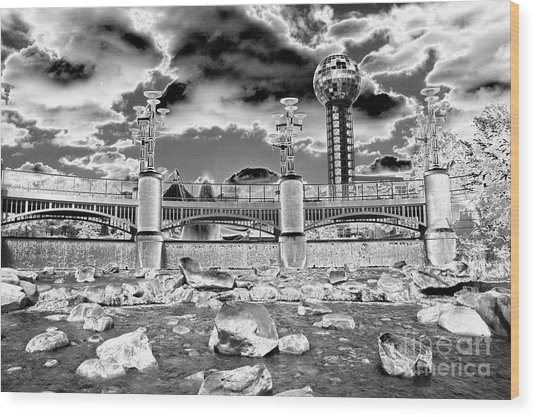 Sky Dome - Se1 Wood Print