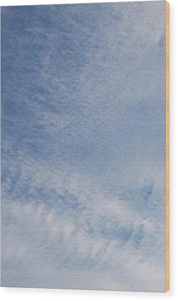 Sky Tracks Baby Wood Print