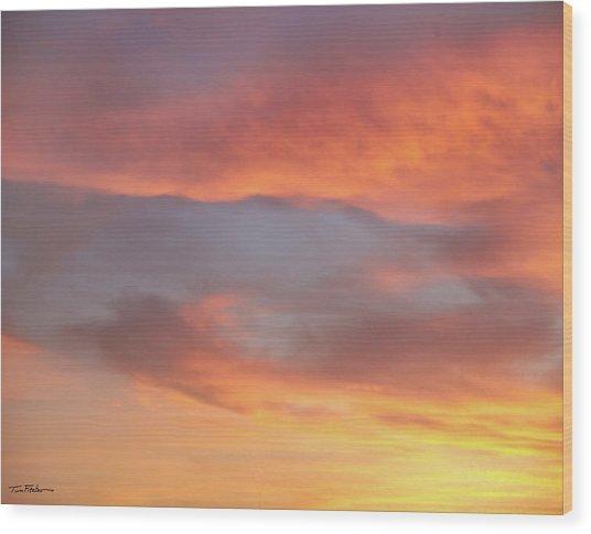 Sky Variation 17 Wood Print