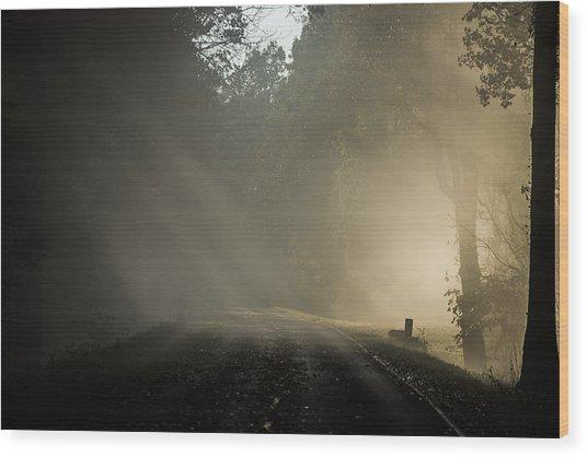 Skyline Drive One Wood Print