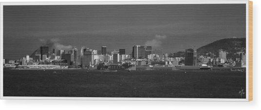 Skyline-porto-rio De Janeiro-rj Wood Print