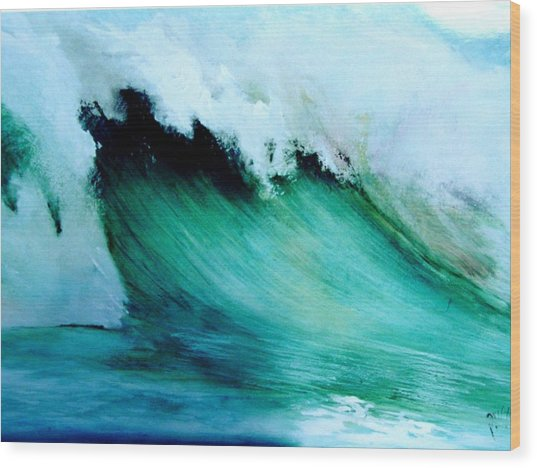 Slaughterhouse Beach Maui Wood Print