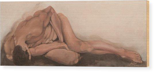 Sleep Wood Print by Jane  Simpson