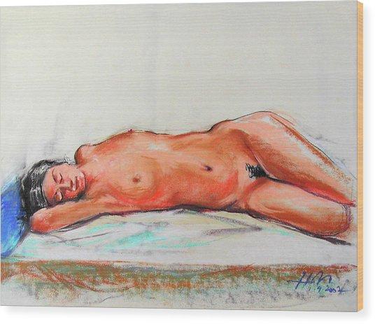 Sleepingblue Wood Print