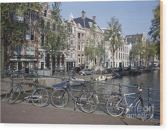 Sleutelbrug Amsterdam Wood Print