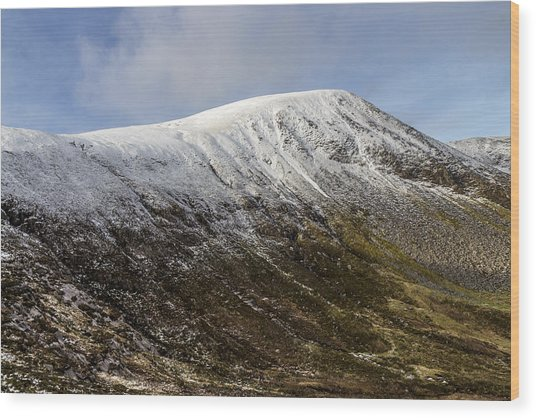 Slieve Commedagh Wood Print