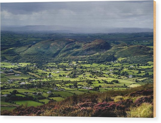 Slieve Gullion, Co. Armagh, Ireland Wood Print