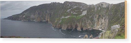 Slieve League Cliffs Wood Print
