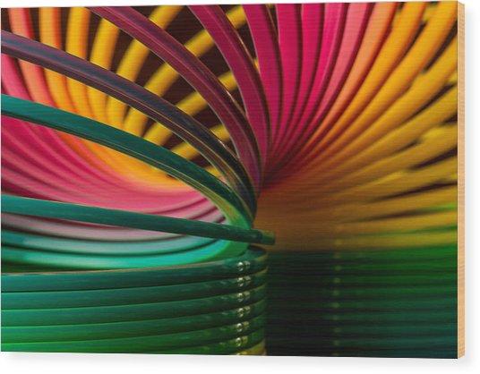 Slinky IIi Wood Print
