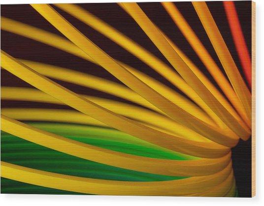 Slinky Iv Wood Print