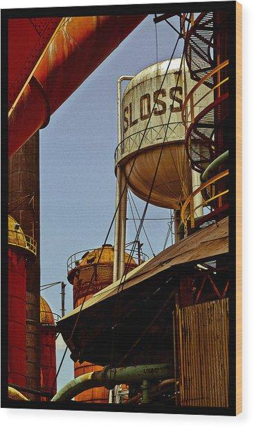 Sloss Poster Wood Print