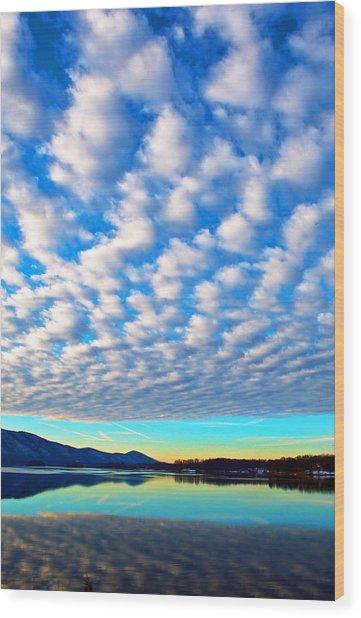 Sml Sunrise Wood Print
