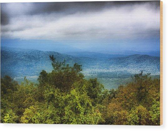 Smokey Mountain 1 Wood Print