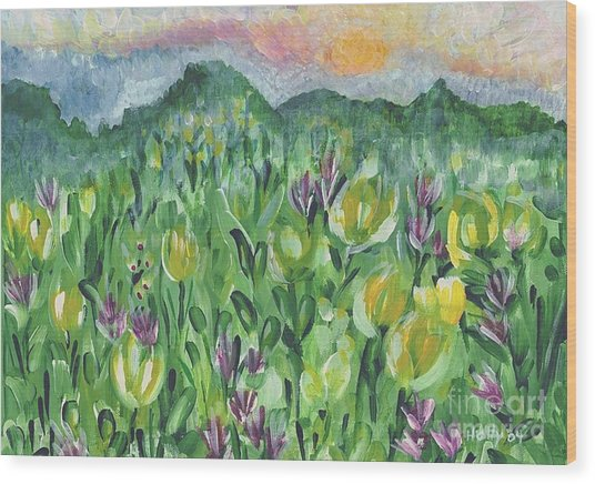 Smoky Mountain Dreamin Wood Print