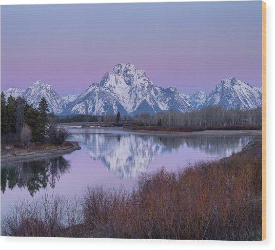 Snake River // Grand Teton National Park  Wood Print