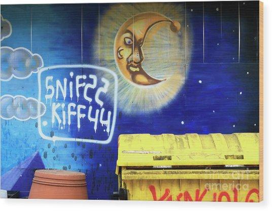 Snif Kiff Wood Print by John Rizzuto