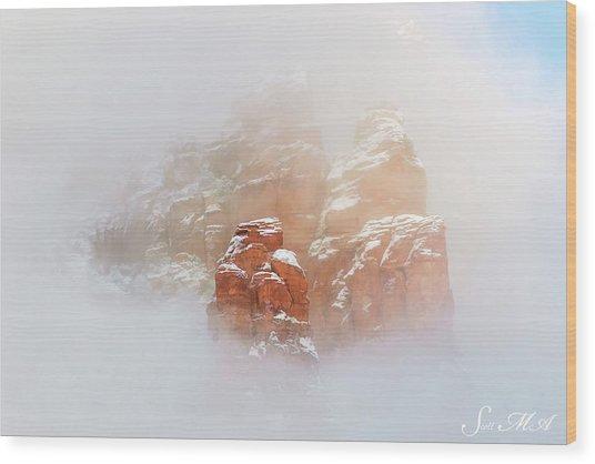 Snow 07-099 Wood Print
