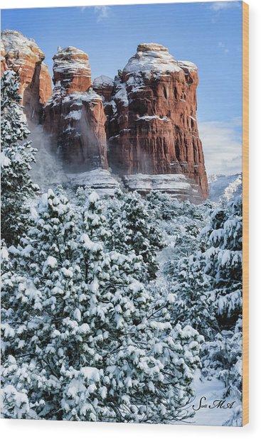 Snow 07-111 Wood Print